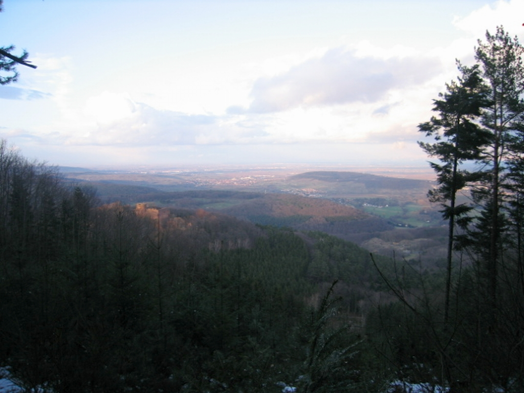 VTT Alsace/Vosges, Ste Odile, Barr, Ungersberg, Champ du feu IMG_0948